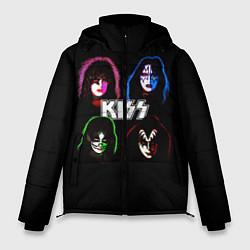 Мужская зимняя куртка KISS: Acid Colours