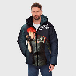 Куртка зимняя мужская Gerard Way цвета 3D-черный — фото 2