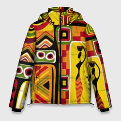 Куртка зимняя мужская Африка цвета 3D-черный — фото 1