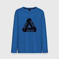 Лонгслив хлопковый мужской Palace Triangle цвета синий — фото 1
