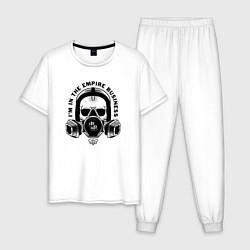 Пижама хлопковая мужская Breaking Bad цвета белый — фото 1
