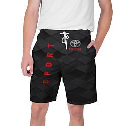 Шорты на шнурке мужские TOYOTA цвета 3D — фото 1
