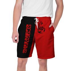 Шорты на шнурке мужские SCORPIONS цвета 3D — фото 1