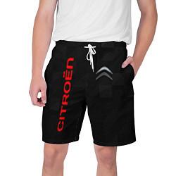 Шорты на шнурке мужские CITROEN цвета 3D — фото 1