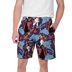 Шорты на шнурке мужские Aladdin цвета 3D — фото 1