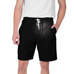 Шорты на шнурке мужские BLOODBORNE HUNTER SYMBOL цвета 3D-принт — фото 1