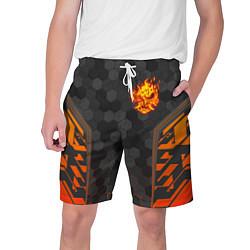 Шорты на шнурке мужские CYBERPUNK 2077 SAMURAI КИБЕР цвета 3D-принт — фото 1