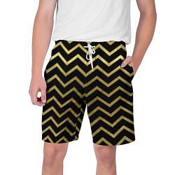 Шорты на шнурке мужские Узор цвета 3D — фото 1