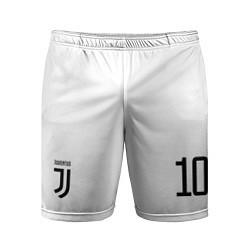 Шорты спортивные мужские Juventus FC: Dybala Home 17/18 цвета 3D — фото 1