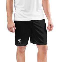 Шорты спортивные мужские Liverpool FC: Away 17/18 цвета 3D — фото 2