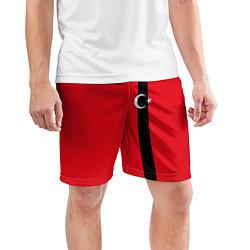 Шорты спортивные мужские Турция цвета 3D-принт — фото 2