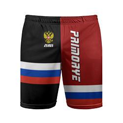 Шорты спортивные мужские Primorye, Russia цвета 3D — фото 1