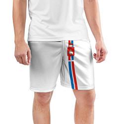 Шорты спортивные мужские Пермский край цвета 3D — фото 2
