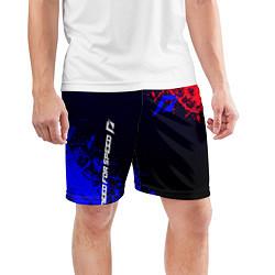 Шорты спортивные мужские Need for speed Shift цвета 3D-принт — фото 2