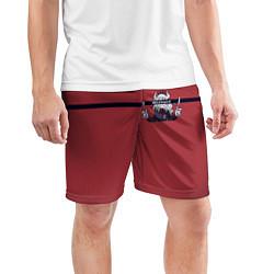 Шорты спортивные мужские Helltaker цвета 3D — фото 2