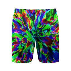 Шорты спортивные мужские Оксид красок цвета 3D — фото 1