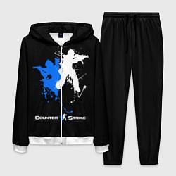 Костюм мужской Counter-Strike Spray цвета 3D-белый — фото 1