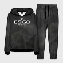 Костюм мужской CS:GO Graphite цвета 3D-черный — фото 1