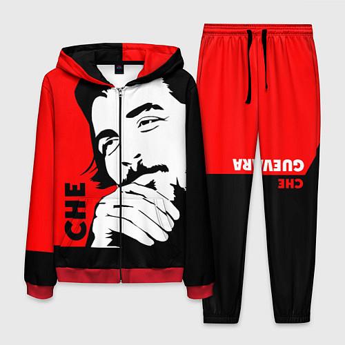 Мужской костюм Че Гевара / 3D-Красный – фото 1