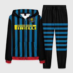 Костюм мужской Inter FC: Pirelli цвета 3D-красный — фото 1