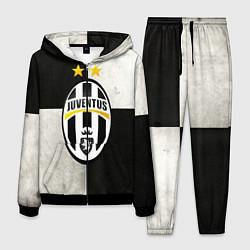 Костюм мужской Juventus FC цвета 3D-черный — фото 1