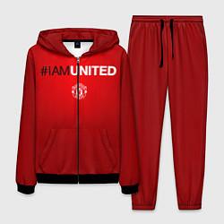 Костюм мужской I am United цвета 3D-черный — фото 1