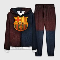 Костюм мужской Barcelona8 цвета 3D-белый — фото 1
