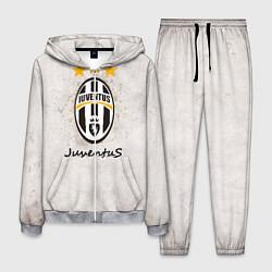 Костюм мужской Juventus3 цвета 3D-меланж — фото 1