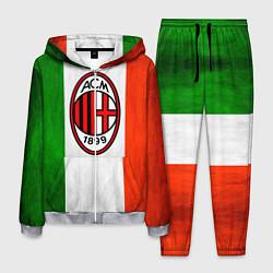 Костюм мужской Milan2 цвета 3D-меланж — фото 1