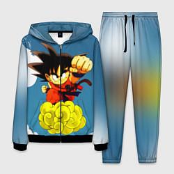 Костюм мужской Small Goku цвета 3D-черный — фото 1
