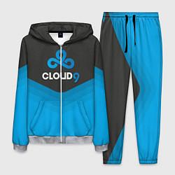 Костюм мужской Cloud 9 Uniform цвета 3D-меланж — фото 1