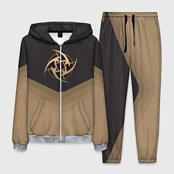 Костюм мужской NiP Uniform цвета 3D-меланж — фото 1