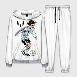 Костюм мужской Messi Young цвета 3D-меланж — фото 1