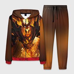 Костюм мужской Nevermore Hell цвета 3D-красный — фото 1