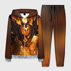 Костюм мужской Nevermore Hell цвета 3D-меланж — фото 1