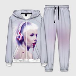 Костюм мужской Die Antwoord: Wild Eyes цвета 3D-белый — фото 1