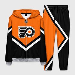 Костюм мужской NHL: Philadelphia Flyers цвета 3D-меланж — фото 1