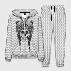 Костюм мужской Мертвый шаман цвета 3D-меланж — фото 1