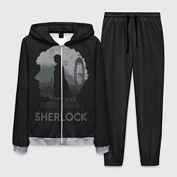 Костюм мужской Sherlock World цвета 3D-меланж — фото 1