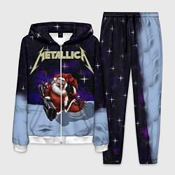 Костюм мужской Metallica: Bad Santa цвета 3D-белый — фото 1