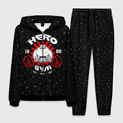Костюм мужской Hero Gym цвета 3D-черный — фото 1