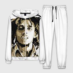 Костюм мужской Bob Marley: Mono цвета 3D-белый — фото 1