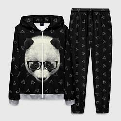 Костюм мужской Умная панда цвета 3D-меланж — фото 1
