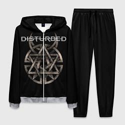 Костюм мужской Disturbed Logo цвета 3D-меланж — фото 1