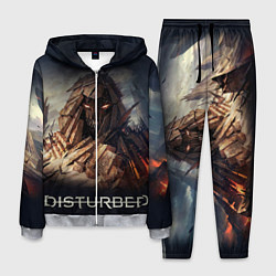 Костюм мужской Disturbed: Skull Mountain цвета 3D-меланж — фото 1