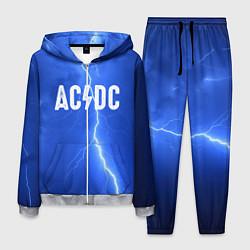 Костюм мужской AC/DC: Lightning цвета 3D-меланж — фото 1