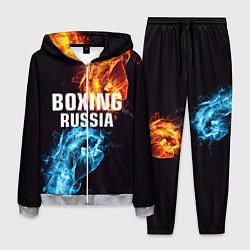 Костюм мужской Boxing Russia цвета 3D-меланж — фото 1