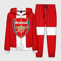 Костюм мужской Arsenal FC: Red line цвета 3D-белый — фото 1