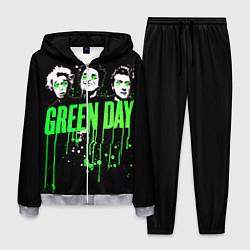 Костюм мужской Green Day: Acid eyes цвета 3D-меланж — фото 1