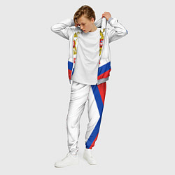 Костюм мужской Russia Hockey Team цвета 3D-меланж — фото 2